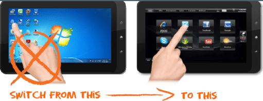 Gear Diary Tycoon Windows 7 Tablet Review photo