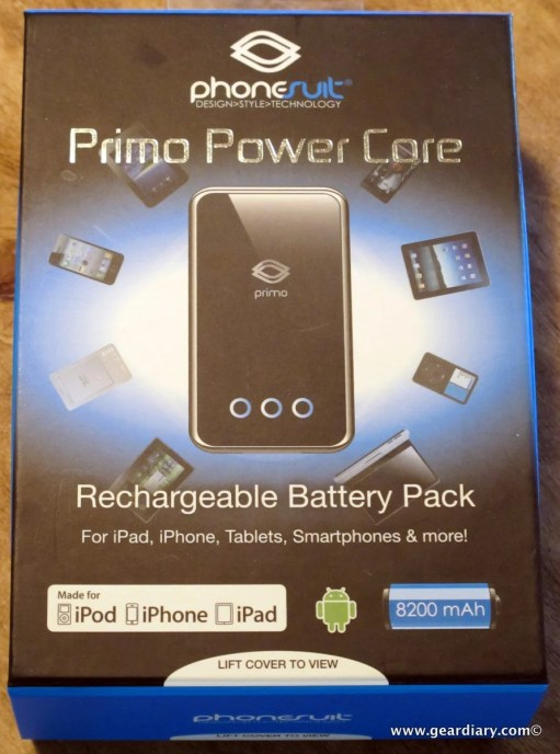 Gear Diary PhoneSuit Primo Power Core Rechargeable Battery Pack for Tablets and Phones Review photo