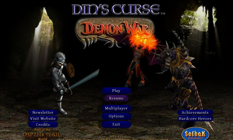 Din's Curse Demon War 1