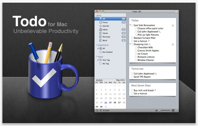Todo for Mac 2