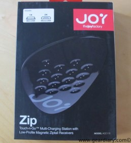 Gear Diary Review: The Joy Factory Zip USB Touch n go Multi Charging Station with ZipTail Receivers photo