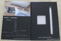 Gear Diary iPad and Tablet Accessory Review: AluPen and AluCube photo