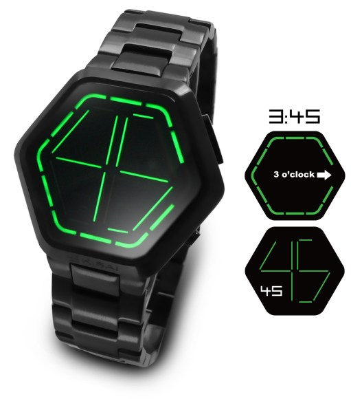 Gear Diary The Night Vision LED Watch: The Latest Creation from Designers at Tokyoflash photo