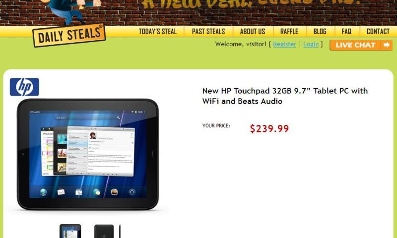 HP TouchPad NonDeal