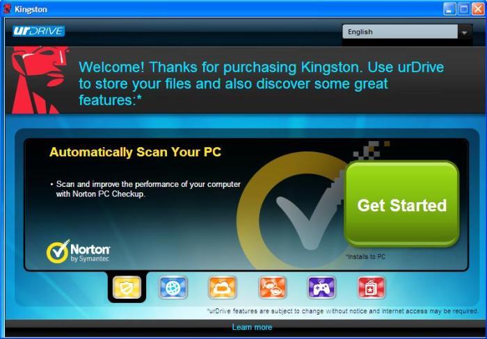 Kingston urDrive