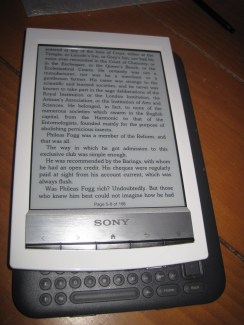 Gear Diary Sony Reader Wifi PRS T1 Review photo