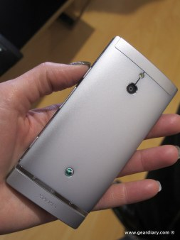 Gear Diary Hands On with the Sony Xperia Ion and the Xperia P photo