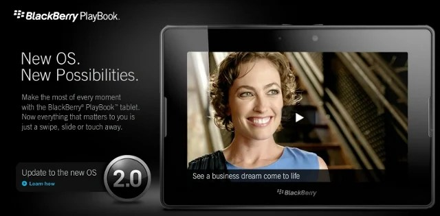 Playbook OS2 Update