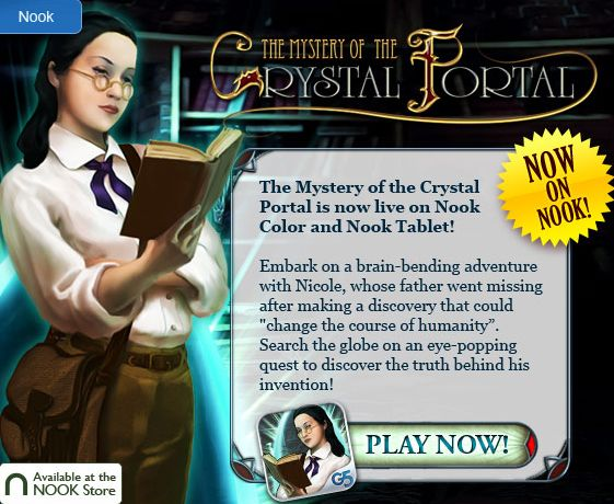 Mystery of the Crystal Portal Nook