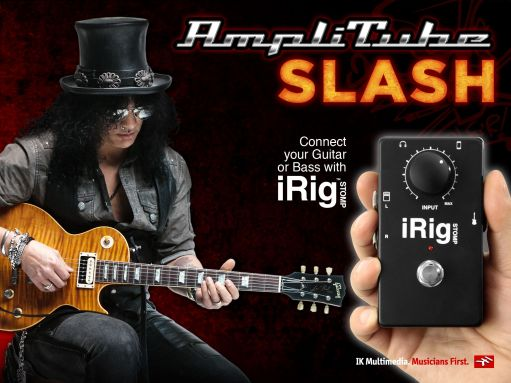 Gear Diary AmpliTube Slash Signature Edition for iPhone and iPad Review photo