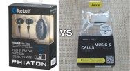 Gear Diary Gear vs Gear, the Phiaton PS 20 BT vs the Jabra Clipper, Bluetooth Headset Head to Head photo