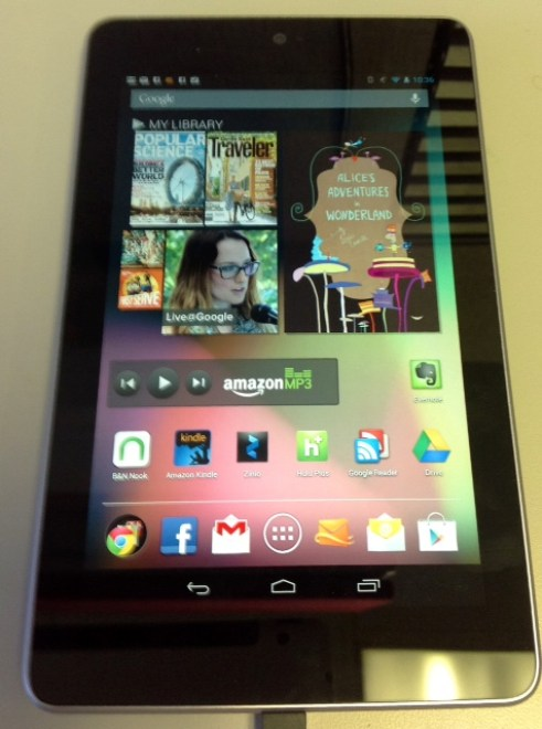 Gear Diary Hands On Video Review of Google Nexus 7 and My 7 Day Nexus Challenge photo