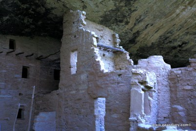 The SPruce Tree House cliff dwelling was first discovered in 1888