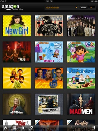 Amazon Prime Video iPad