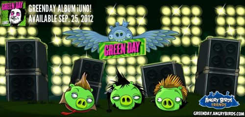 Green Day Angry Birda