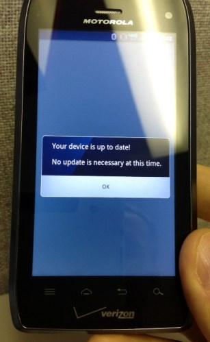 Moto Update Waiting