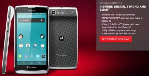 Motorola Electrify 2 US Cellular