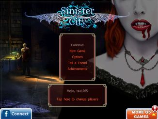 Gear Diary Sinister City Vampire Adventure HD for iPad Review photo