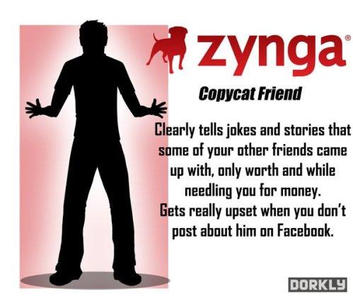 Zynga Copycat Friend