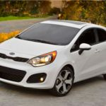 Kia offers new stop-start technology in its 2013 Rio line/Image courtesy Kia