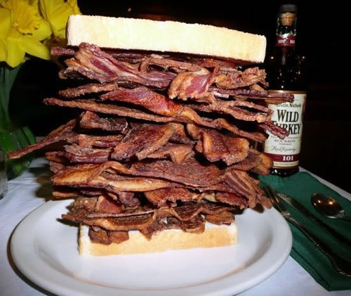 Bacon Megastack