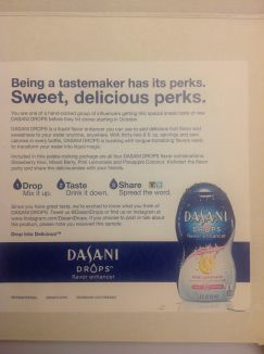 Gear Diary Dasani Drops Water Enhancer Review photo