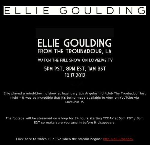 Ellie Goulding Live1