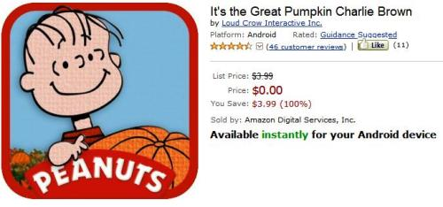 Great Pumpkin Free