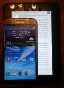 Gear Diary Samsung Galaxy Note II from U.S. Cellular Review and Video Hands On photo