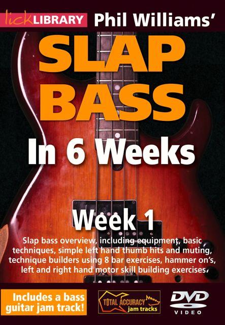 Learn Slap Bass in Six Weeks Instructional DVD