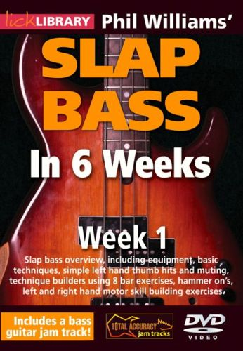 Learn Slap Bass in Six Weeks Instructional DVD