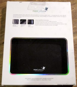 Gear Diary MonCarbone Black Diamond Smartt Mate Carbon Fiber iPad Shell Review photo
