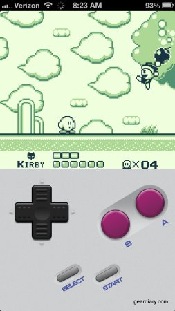 Gear Diary Game Play Puts Game Boy Games on iPhone 5 Without Jailbreaking photo