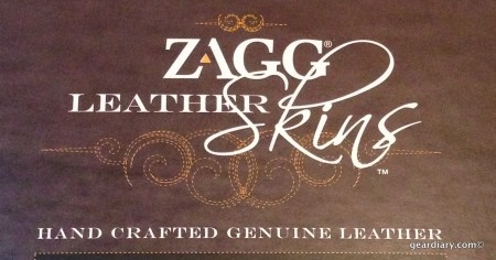 Zagg LEATHERskin for iPad mini