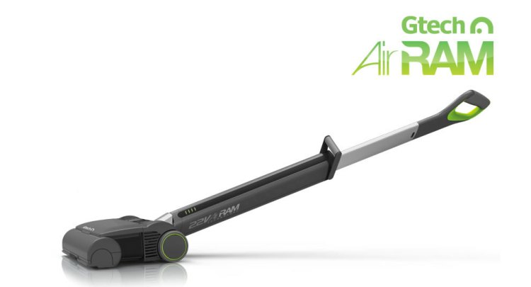 GTech AirRam Vacuum Cleaner Is Light, Clean, Cordless, and Longer Lasting