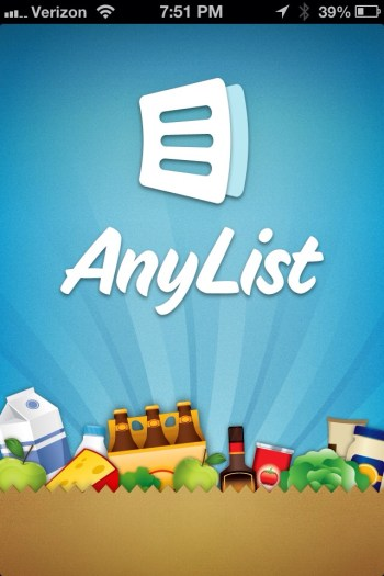 AnyList for iPhone Grocery List Manager