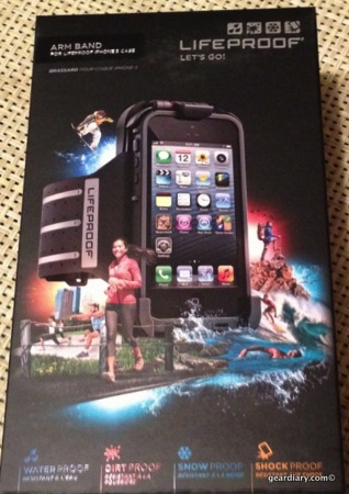 LifeProof fr? and Arm Band for iPhone 5