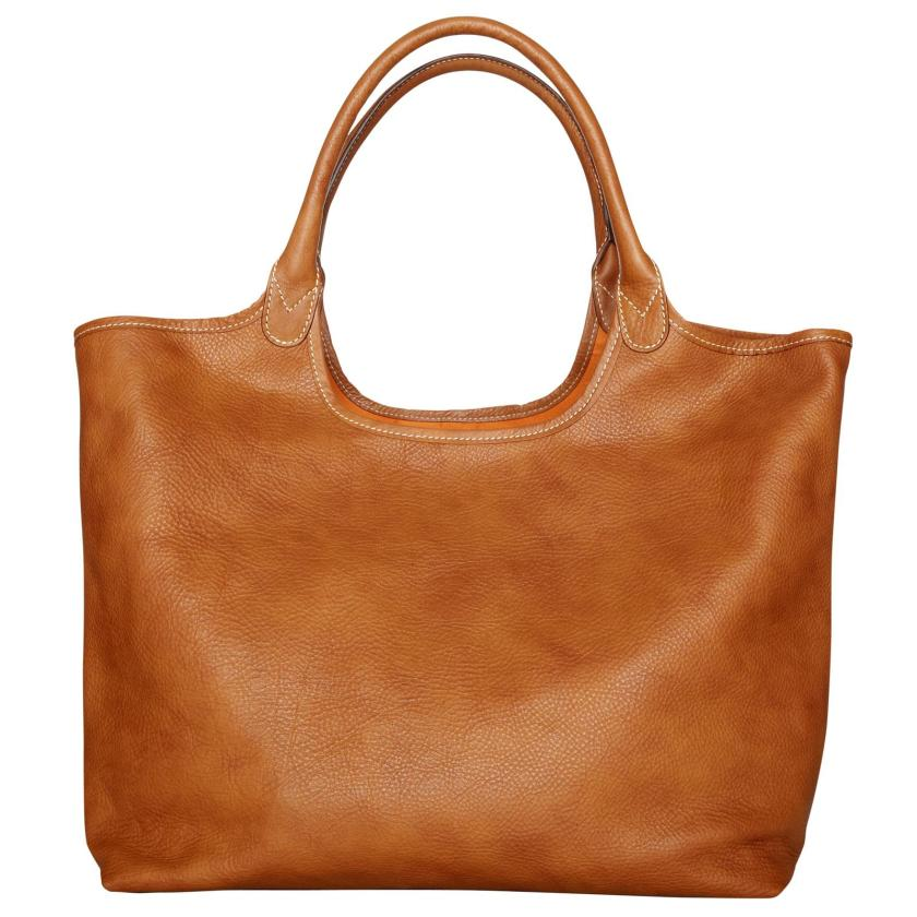 The Travelteq Mirjam Leather Tote Laptop Bag