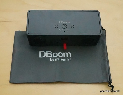 Gear Diary DBoom Bluetooth Speaker 25