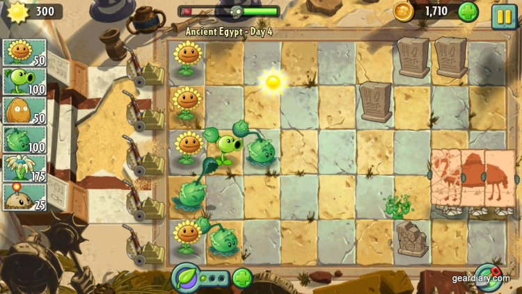 Plants vs Zombies Gear Diary (1)