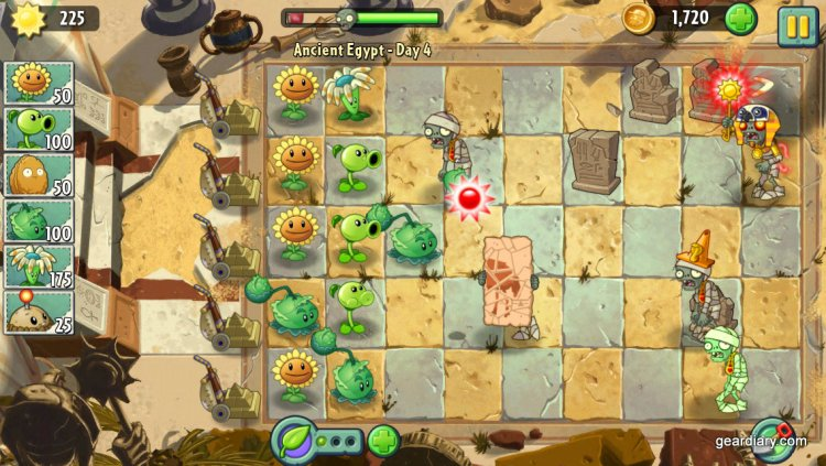 Plants vs Zombies Gear Diary (2)