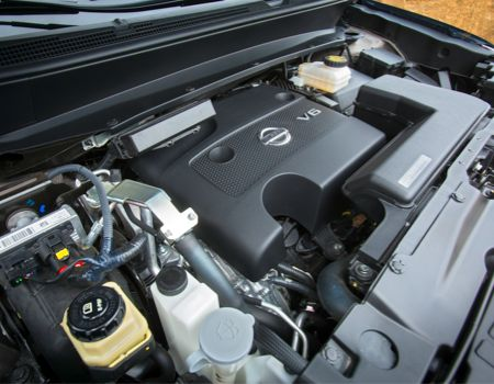260hp 3.5-liter V-6 engine