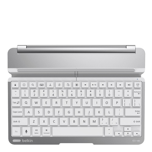 Belkin Qode ThinType Keyboard iPad Air silver front