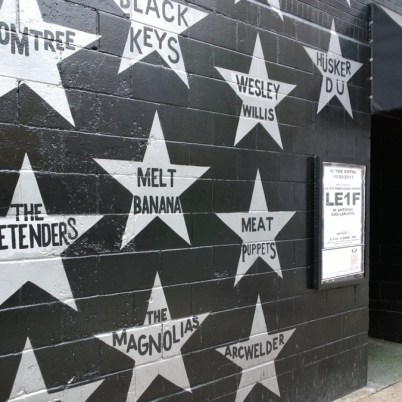 The wall at the First Avenue music hall in Minneapolis (http://first-avenue.com/)