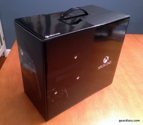 1-Gear Diary Xbox One Unboxing
