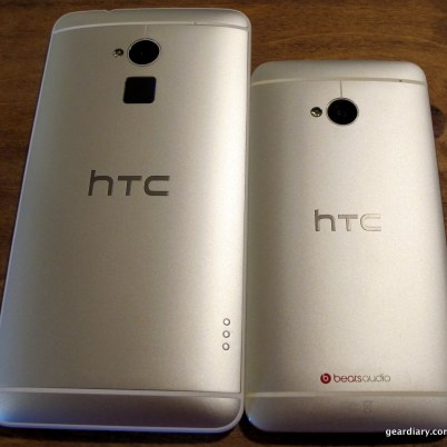 The HTC One has Beats Audio, the HTC One Max has HTC Boom Sound.