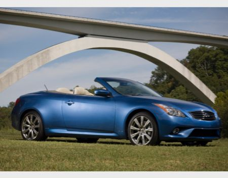 Infiniti Q60S Convertible/Images courtesy Infiniti