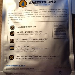 Gear Diary BHEESTIE Bags Review   Protech and Revive Your Wet Devices photo