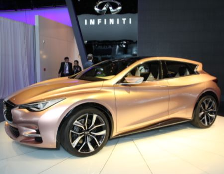 Infiniti showed the Q30 Concept