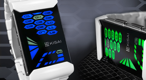 Watch the Tokyoflash Kisai Console Acetate LED Watch Light Up